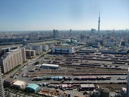 隅田川駅貨物フェスティバル 全景