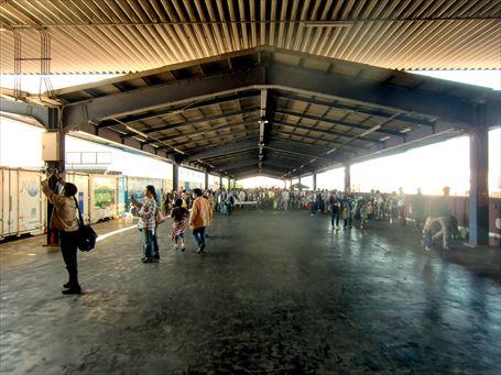 唯一隅田川駅に現存する歴史あるプラットフォーム