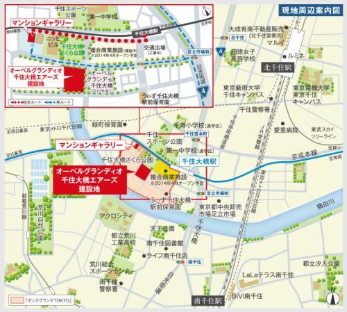 千住大橋駅前の再開発