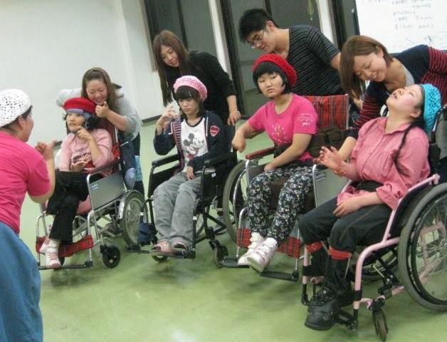 hsd10月10日車椅子チーム集合