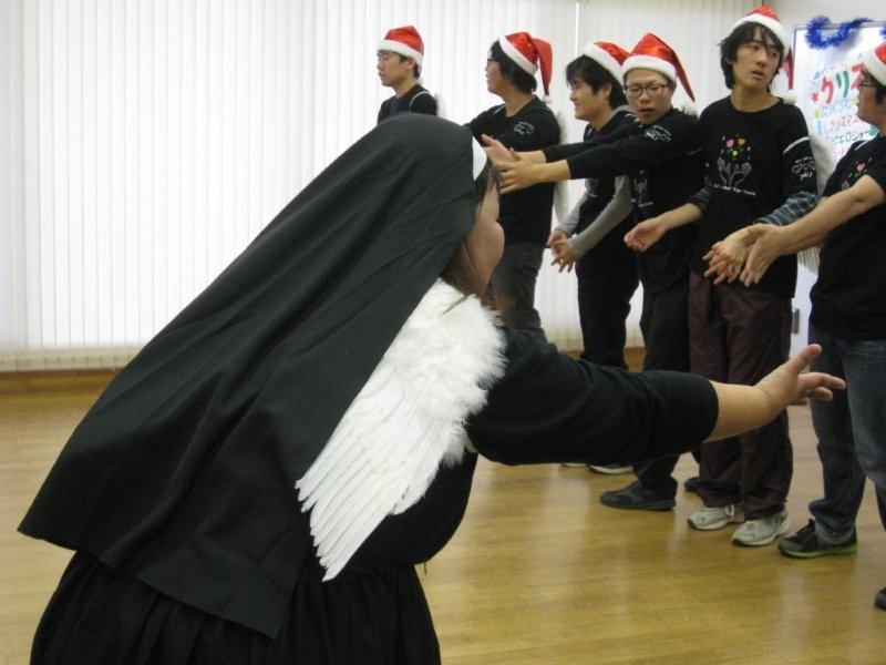 hsdねがいクリスマスシスターと天使