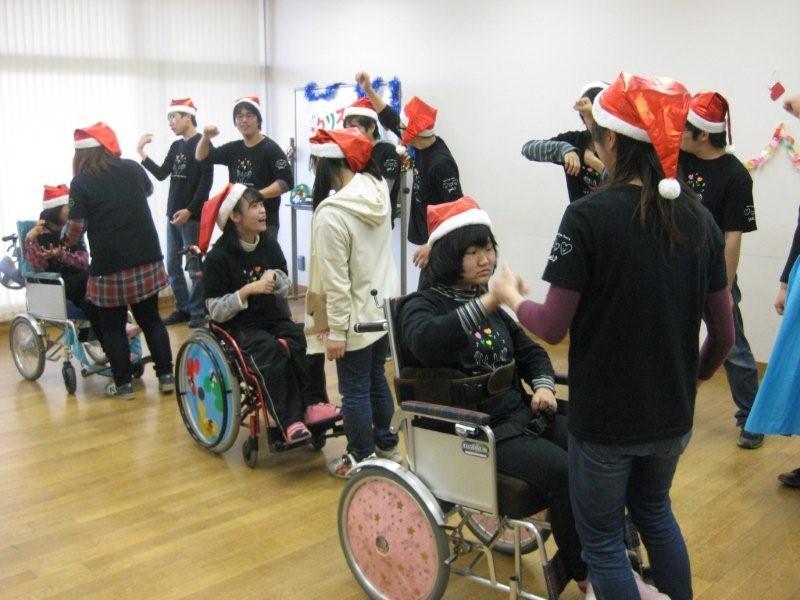 hsdねがいクリスマスワイルド車椅子横向き
