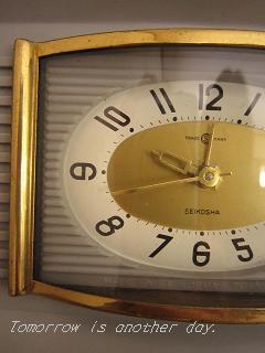 SEIKOSHA 目覚まし時計 文字盤