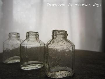 ガラスの小瓶 仲間 アップ