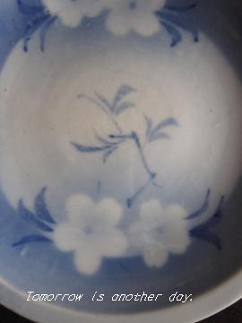 おきにいりの一枚~桜の皿~ アップ