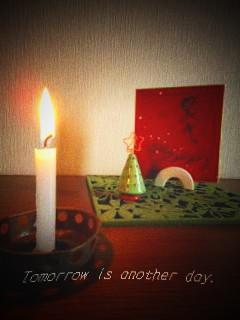クリスマスディスプレイ 玄関 アップ