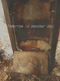 知事室 暖炉 アップ