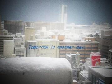 2011.2.14 ホテルの窓から