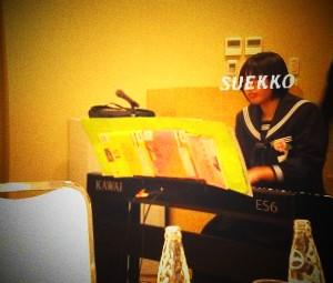 2011.3.18 昼食会 ピアノ伴奏