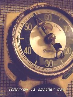 古いタイマー ~尾張時計~ アップ