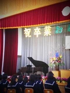 2011.3.18 末っ子 卒業式