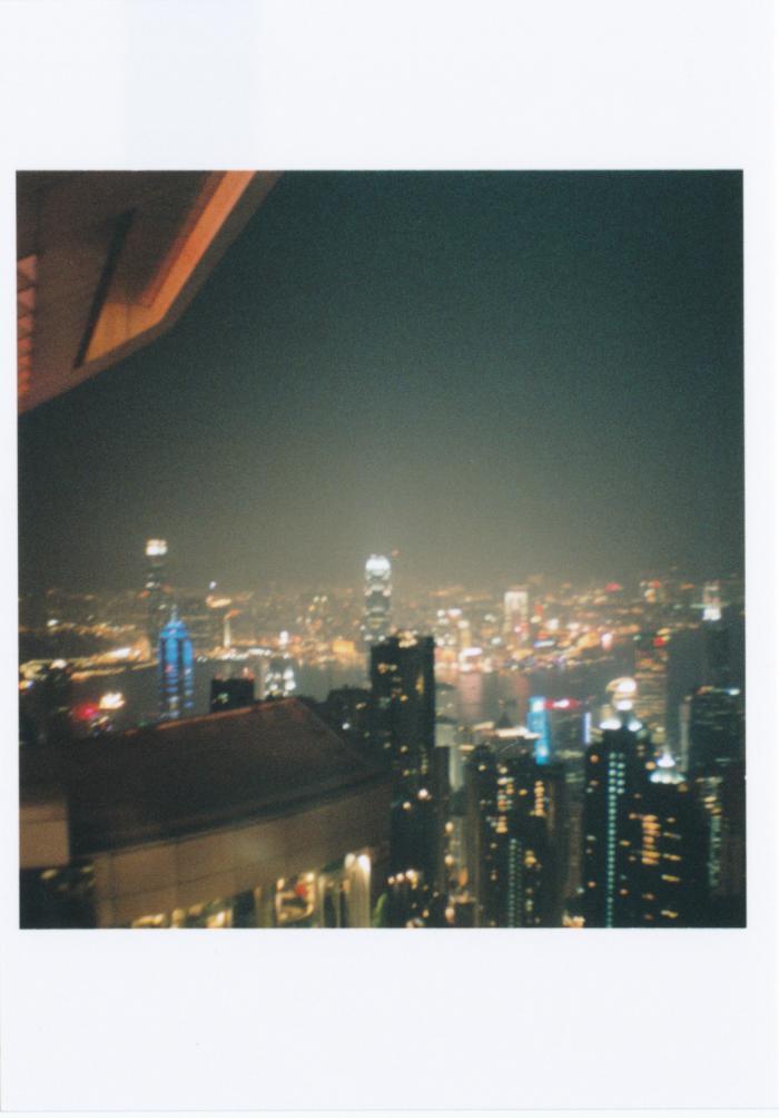 ピーク・ギャラリア屋上からの夜景01