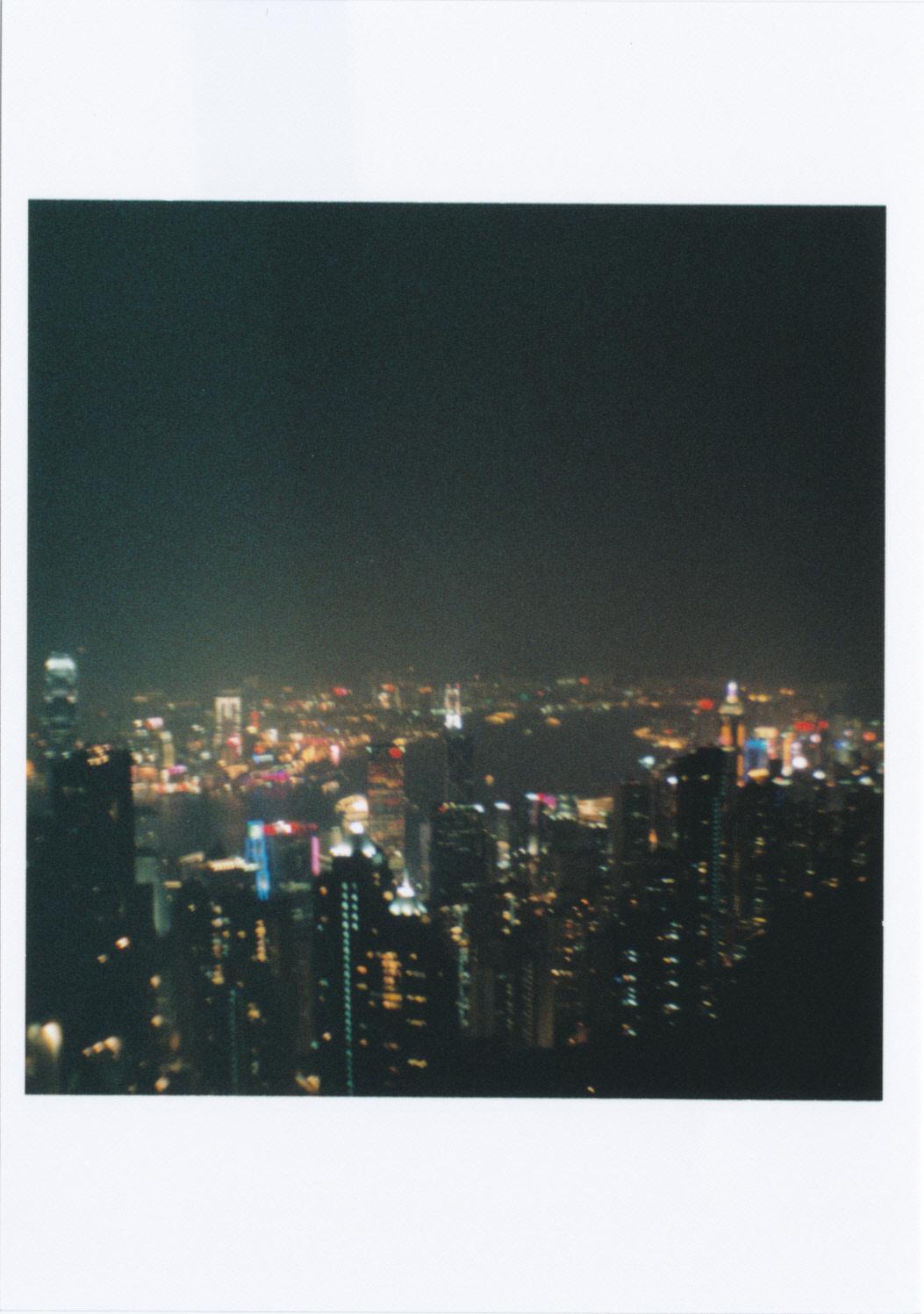 ピーク・ギャラリア屋上からの夜景02