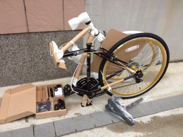折りたたみバイク