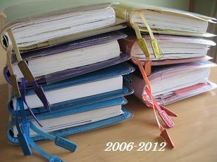 2006-2012 手帳