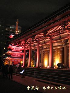 東長寺 本堂寺と五重塔