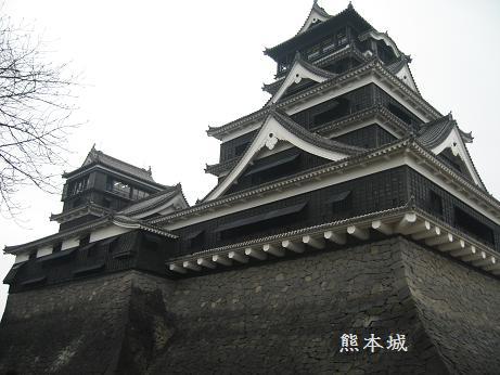朝の熊本城