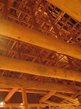 熊本城 本丸大御殿大広間 大御台所 天井