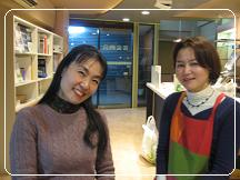 薬膳料理 講師の永井晶子先生と