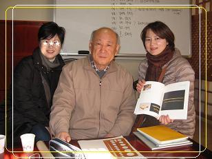 北村 ソウル無形文化財教育展示館 ホン先生と-1