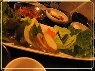 サムギョプサル のお野菜