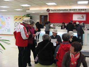韓国観光公社の観光案内は 中国人で・・・