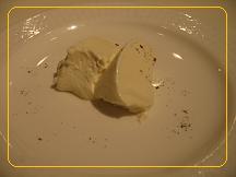 デザートのパンナコッタ