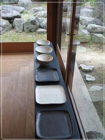 工房 正島 角皿と御茶碗