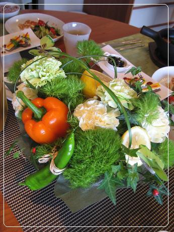 お野菜ブーケ