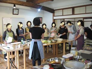 ぱらんまだん お料理教室スタート