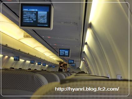 機内JL3056