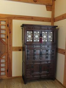 1.居安堂 講堂の家具