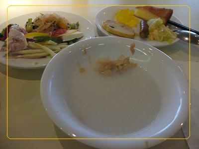 2010-9-3 朝食お粥