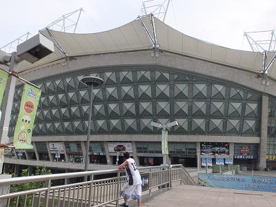 上海 サッカー球場