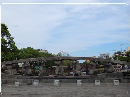 9-4 済州島海女モニュメント