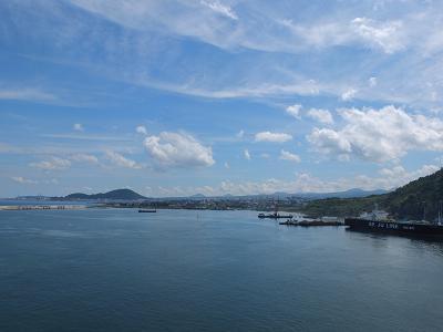9-4 済州島の港より