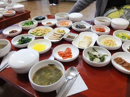 10-24 全州 学忍堂 朝食 3