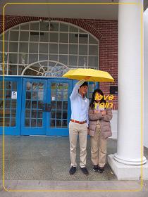 11-10 啓明大学 9図書館前
