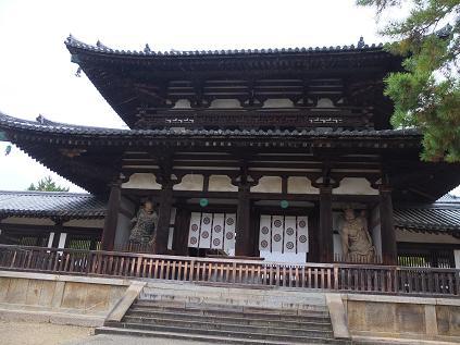 11-17 法隆寺 入口3