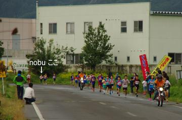 20121007nobu飯山市駅伝大会