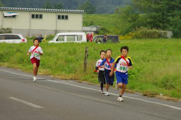 20121007nobu飯山市駅伝大会1