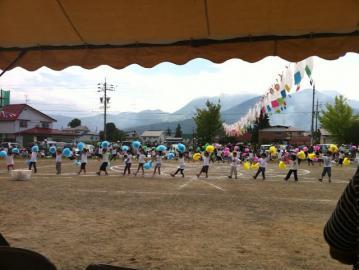 20120929木島保育園運動会