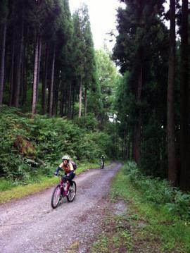 20120930MTBトレイルツアー山道中