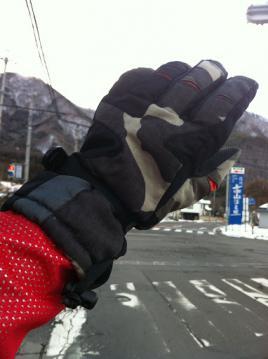 20130125escapeR3冬用グローブおたふく