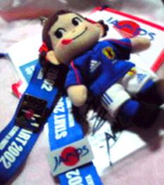 2002W杯ピンズ