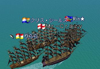 皆で沈没船巡り♪