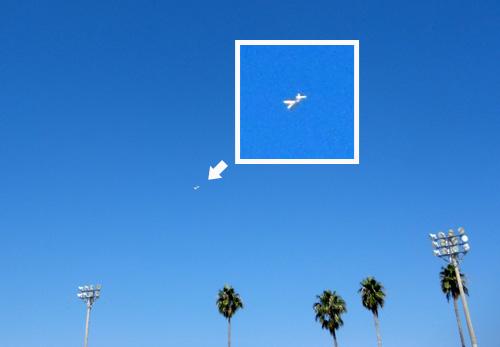 カブⅢ、飛行中。