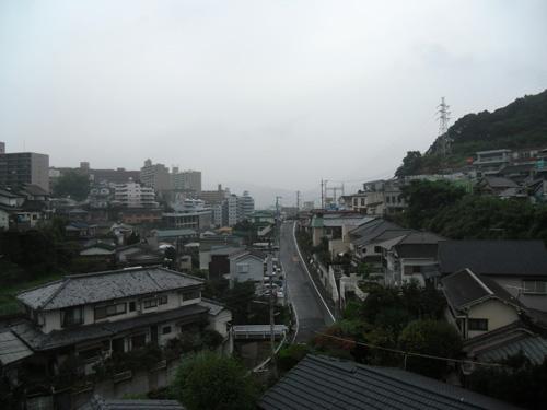 いつの間にか雨だよ。