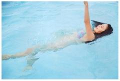 本仮屋ユイカの水泳濡れ濡れ脇画像