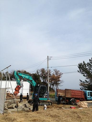 坂本邸解体工事